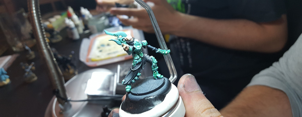 The New Warcasters & Warlocks Coming Along Nicely