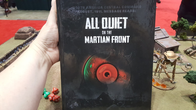 It IS Not Quiet On The Martian Front!