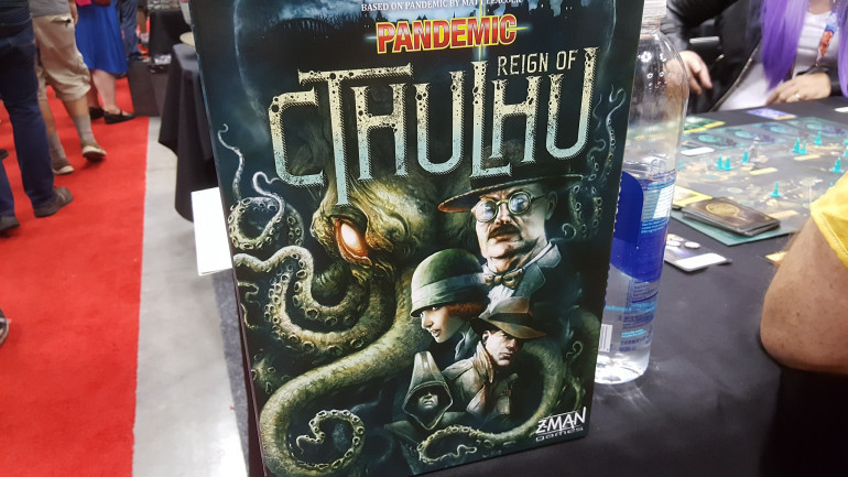 Big Draw For Cthulhu Pandemic At Z-Man Games Booth
