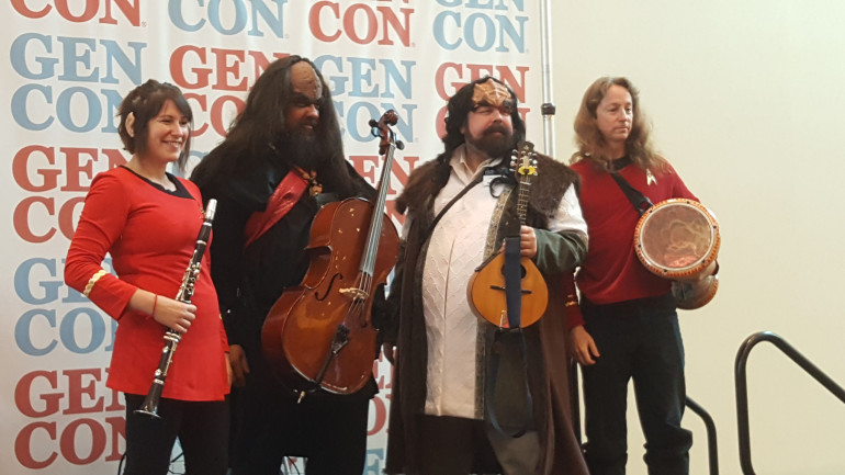 It's Not Gen Con Without The Klingon Bards!