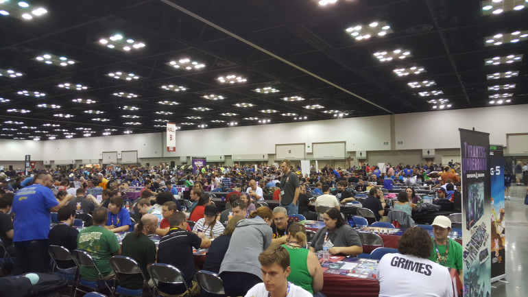 The Vendor Hall May Have Closed, But The Games Must Go On!