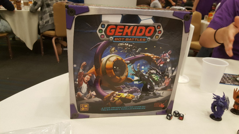 Battle It Out With Robots In Gekido