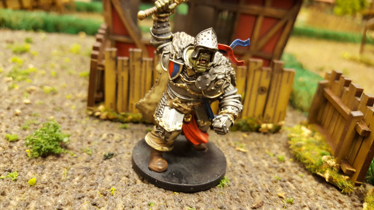 Andy Has Already Painted Up His First Miniature!