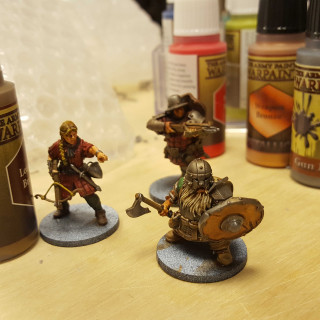 Painting Away On Some Awesome Miniatures