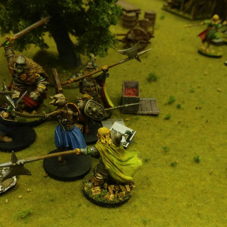 Gareth & Annie Get In A Game With Fully Painted Miniatures