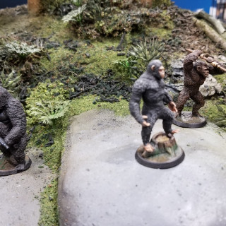 Stunning Diorama For WYSIWYG Games' Plant of the Apes