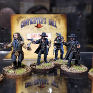 In The Old West With Knuckleduster Miniatures