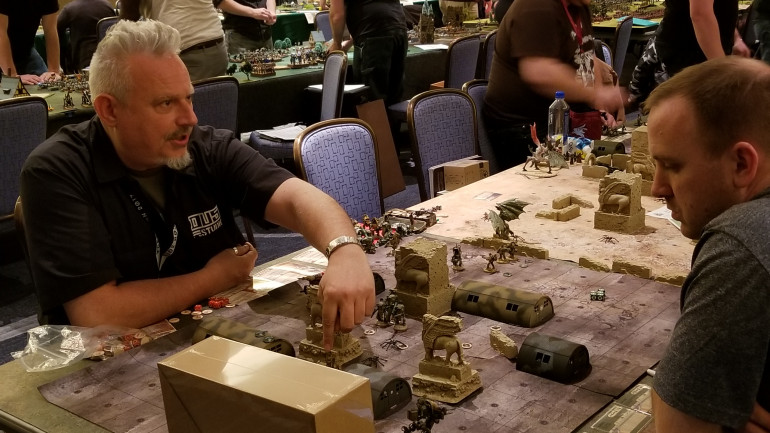 DUST 1947 Games Under Way And Look Who's Playing!