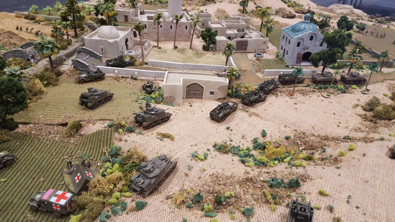 Heading Into The Desert – The Medjez Valley 1943
