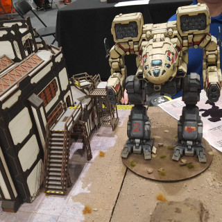 4Ground Set Up An Awesome BattleTech Battlefield