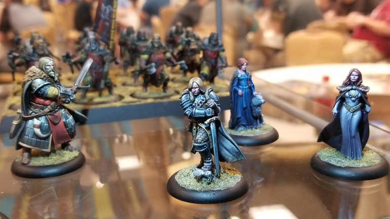 Stunning Studio Painted Minis For A Song of Ice & Fire