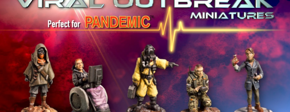 Viral Outbreak Miniatures Launching Tomorrow