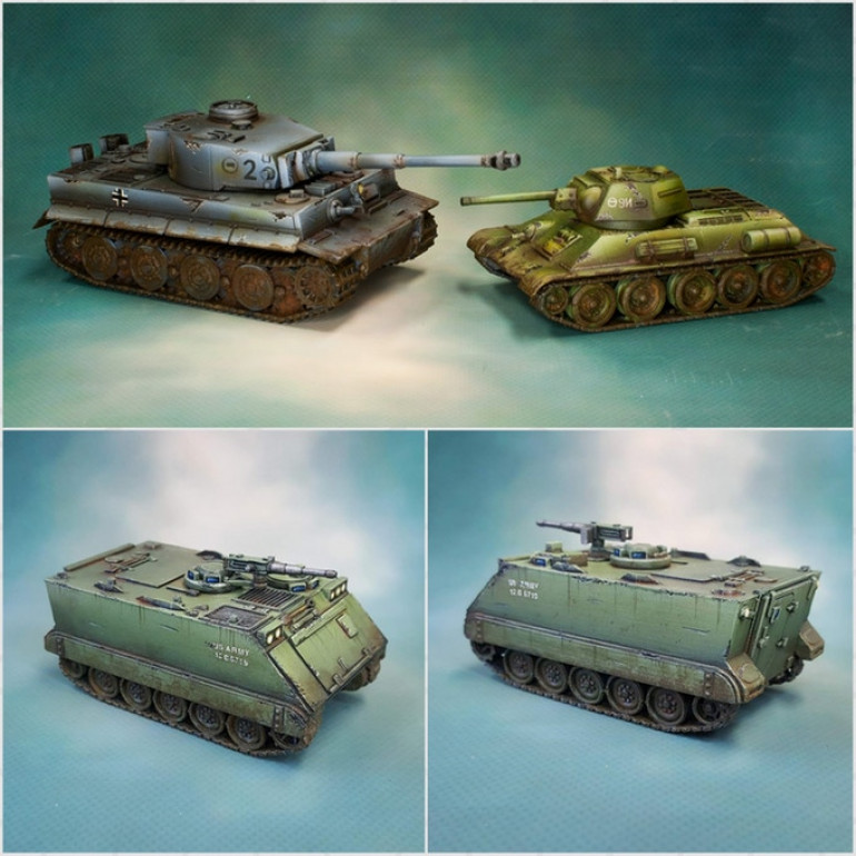 graphic regarding Printable Tanks named 3D Printable Tanks OnTableTop Household of Beasts of War