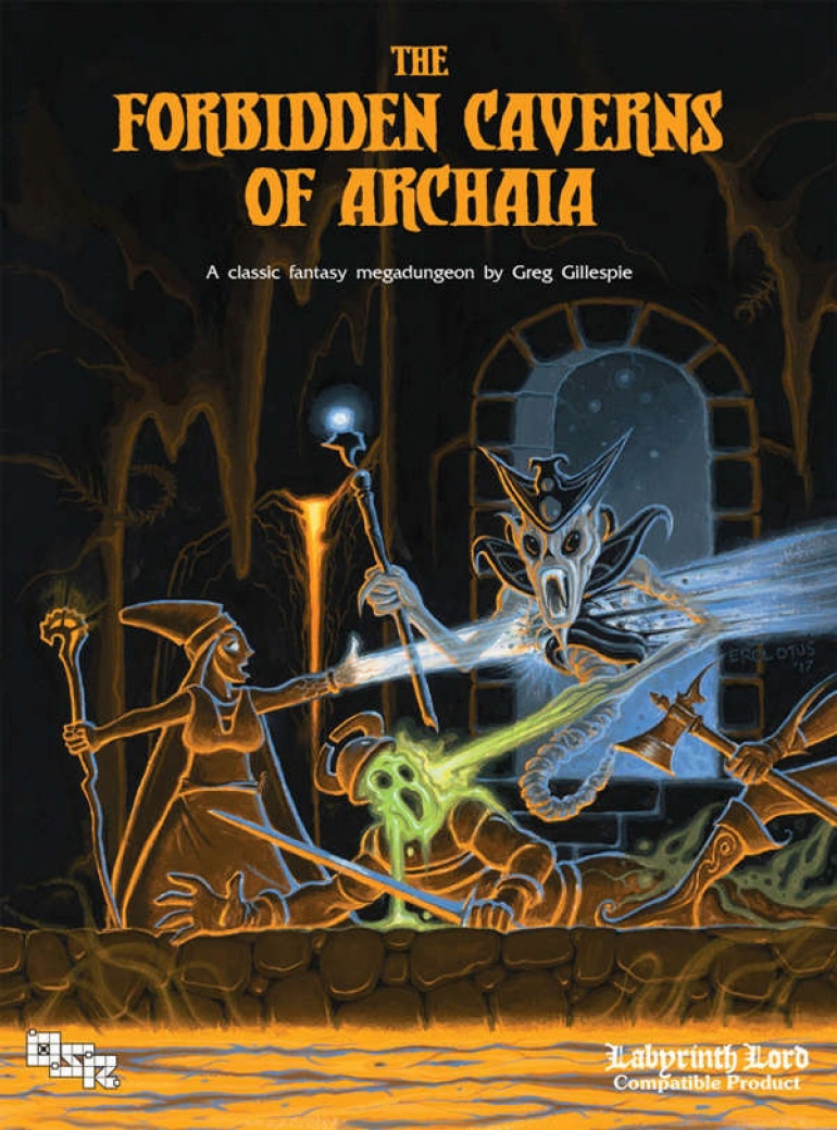 The Forbidden Caverns of Archaia for 5E