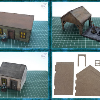 28mm MDF Buildings