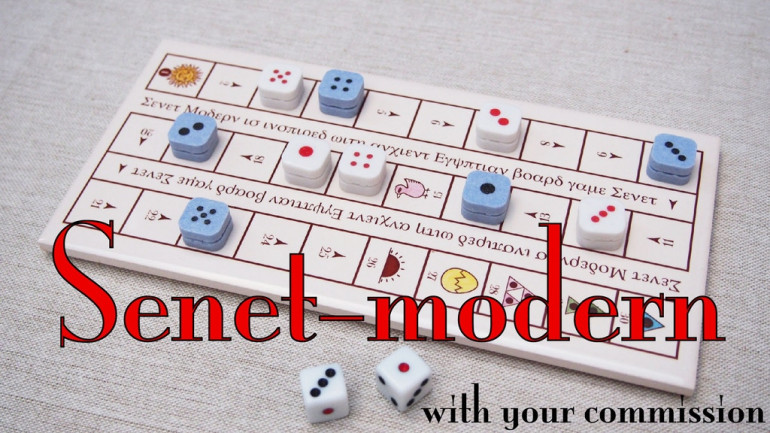 Senet: Modern & Customised Boards On Commission