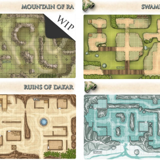 Adventure Realm Game Mats