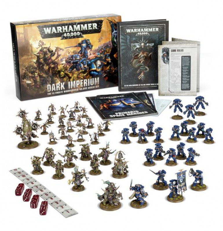 Warhammer 40K 8th Edition Is Up For Pre-Order!