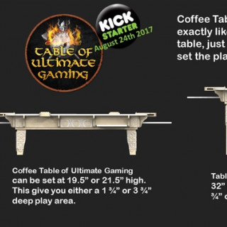 Table of Ultimate Gaming: The Ultimate Game Table System