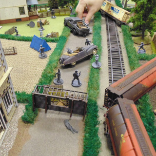 Walking Dead Boot Camp – A Closer Look At The Tables!