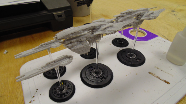 Tinkering Away On Ships Of All Shapes