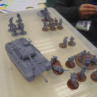 The Armies Get A Lick Of Paint