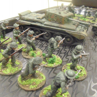 Some Painted Soldiers!