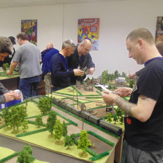 The Troops Lay Out The Battlefields!