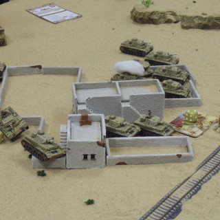 Wrecked Armour Litters The Battlefield