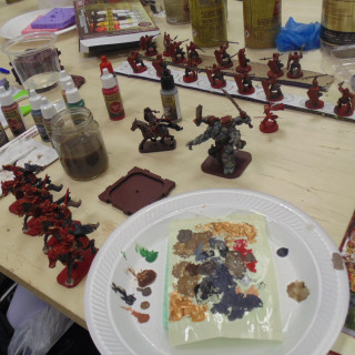 Mel The Terrain Tutor Gets Stuck Into His Army