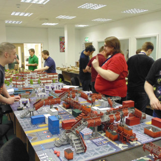 First Infinity Games Under Way - The Basics