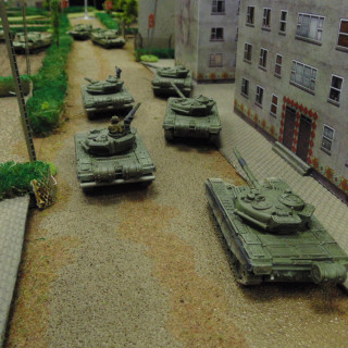 The Streets Fill With Soviets & US Soldiers