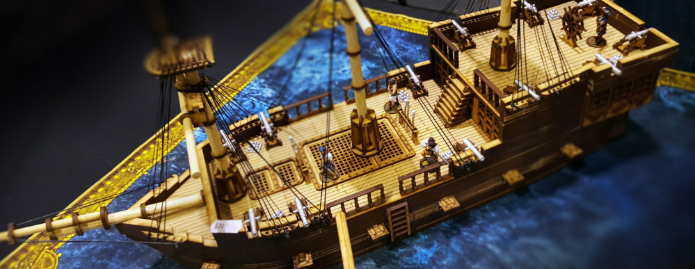 Dark Ops Bring Some Awesome Galleons To the Show