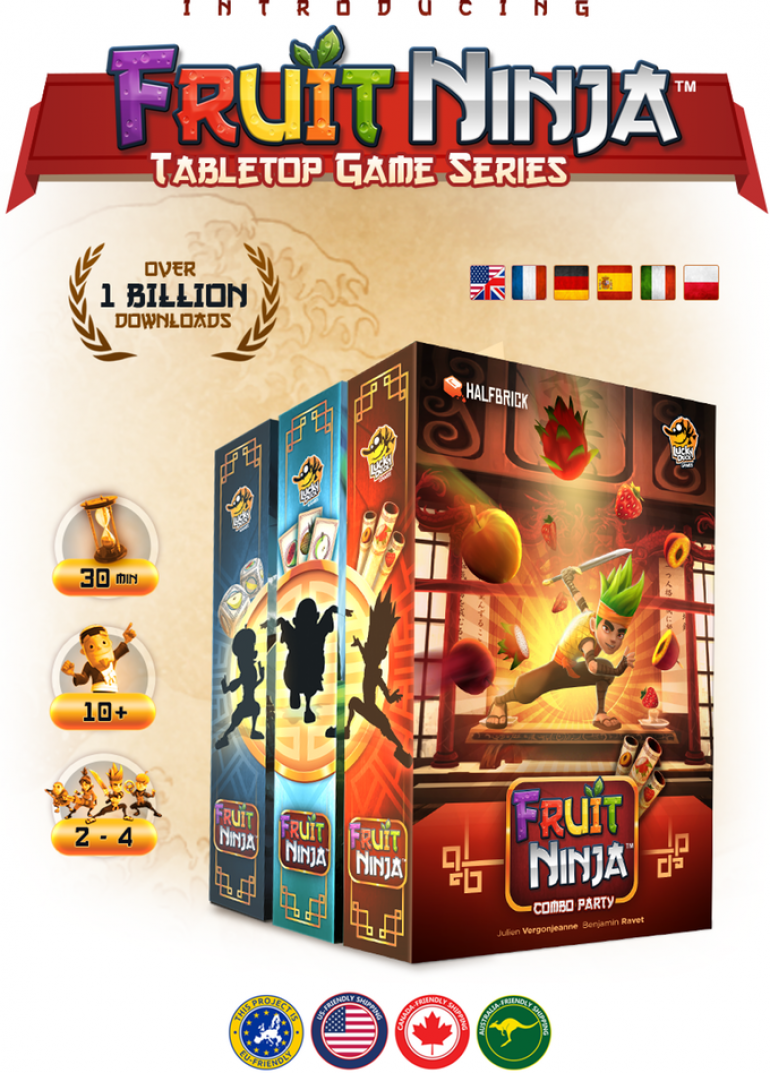 Fruit Ninja - Tabletop Game Series