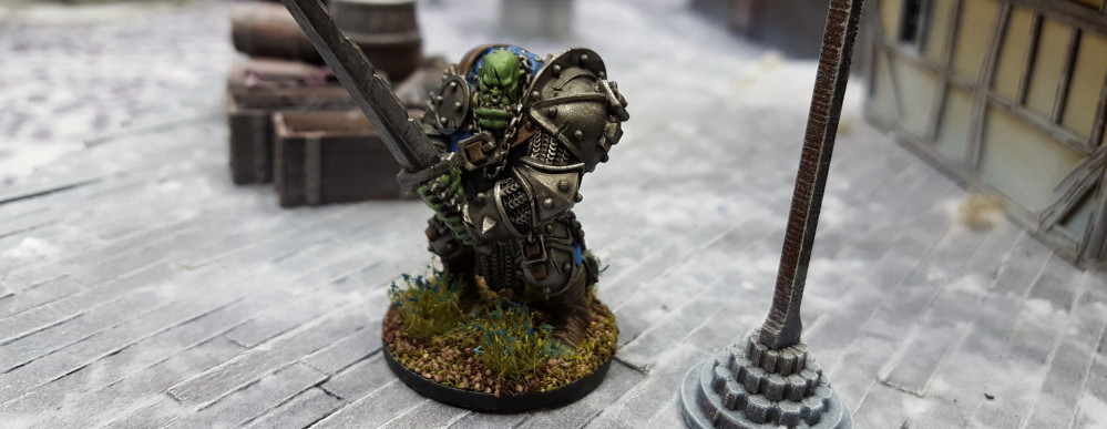 Gaz Paint's Up His Orc Commander!