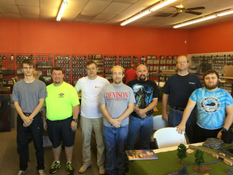 Iron Maiden Battle day at Game Time Miniatures