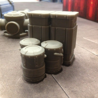 Gamemat.eu Give An Exclusive Sneak Peak At Chem Zone Terrain!