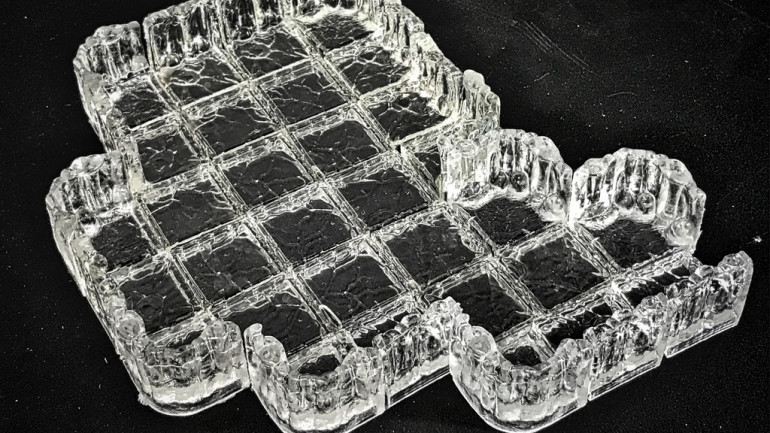 Ice Caverns : Gaming Terrain made from high-quality polymers