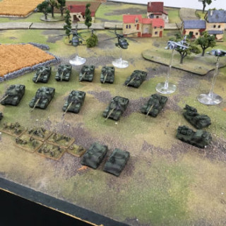 Legions Hobbies & Games painted a great looking give away army!