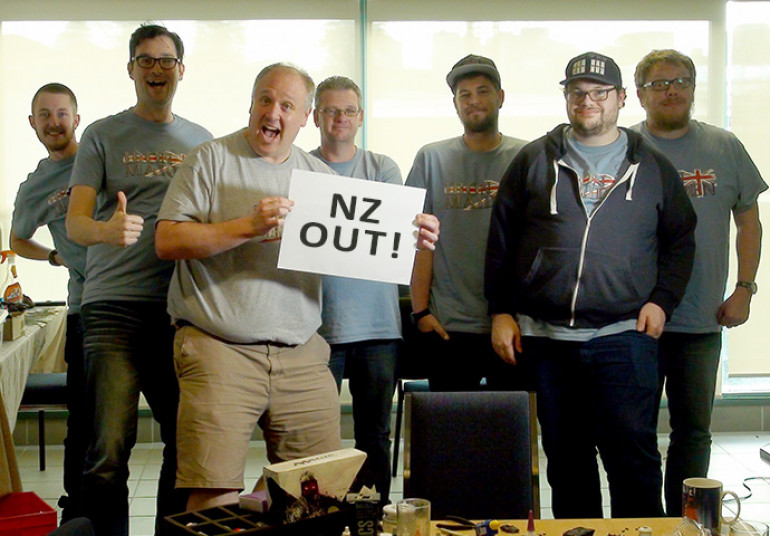 The NZ team is signing off