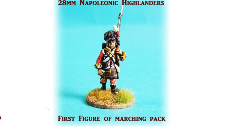 28mm Napoleonic Highlanders