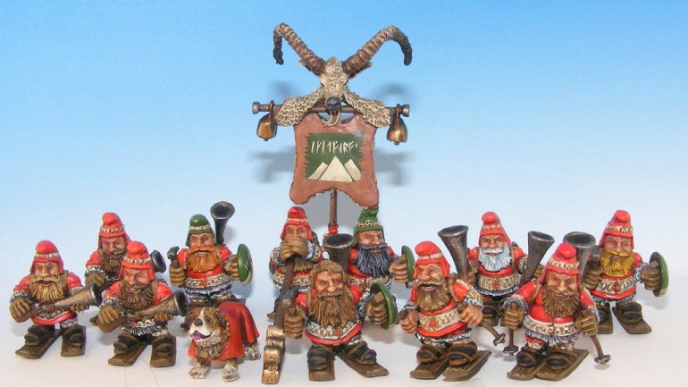 Old School Miniatures presents the Alpine Dwarfs