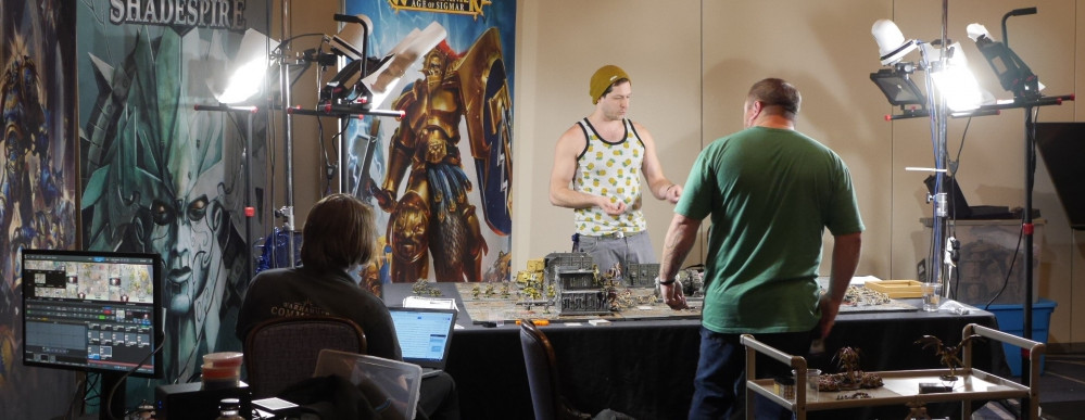 Adepticon is Live with Warhammer