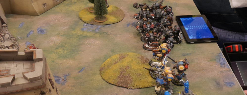 The tension rises as several armies appear to challenge in Warmachine/Hordes