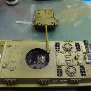 Painting Part 5 - Washes & Metal Work Done