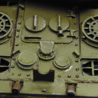 Final Details - Wet Mud, Rusty Track & An Oily Engine Deck