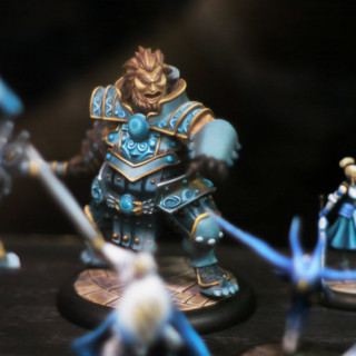 A Close Up Of New Resin Relic Knights