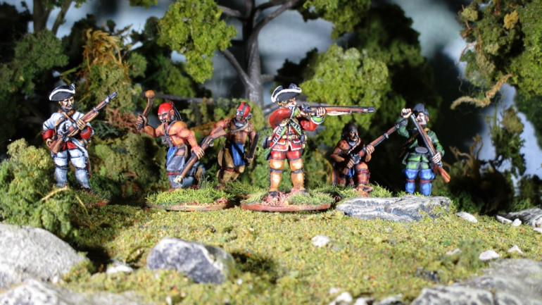 Sash and Saber 28mm French and Indian War Miniatures