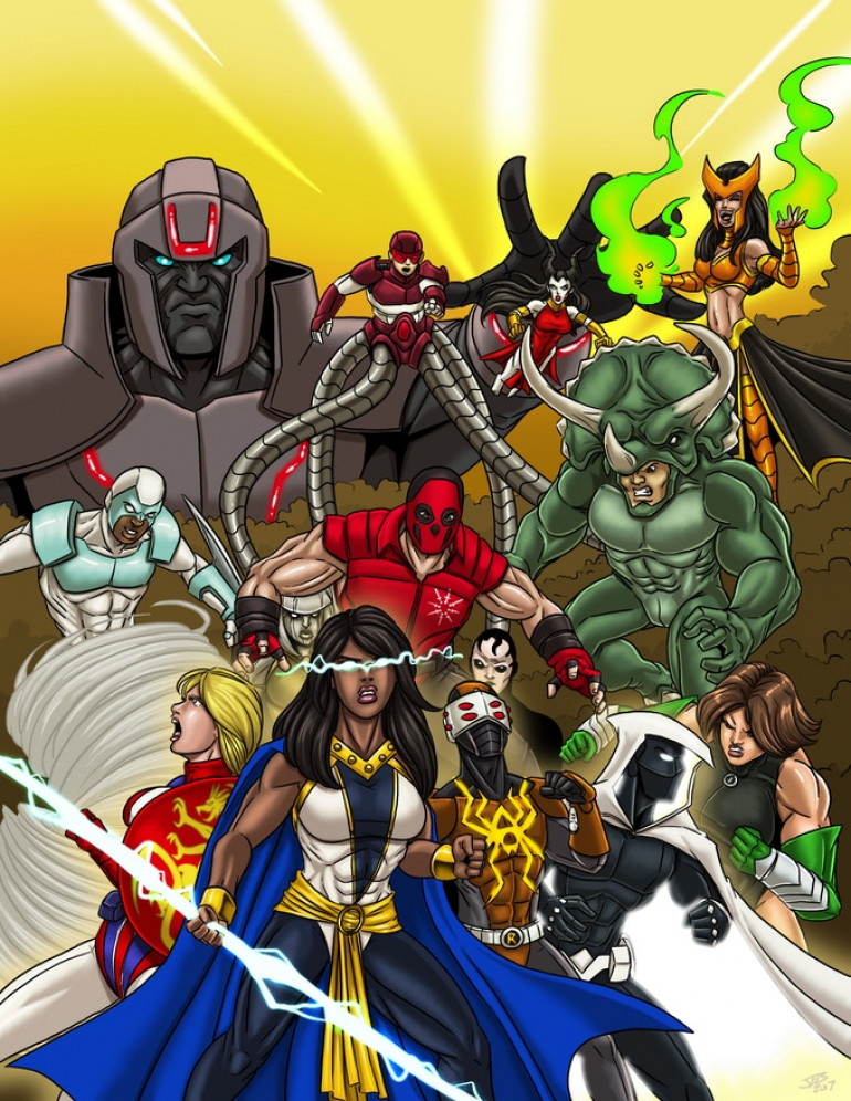 Super Powered Legends Sourcebook for M&M