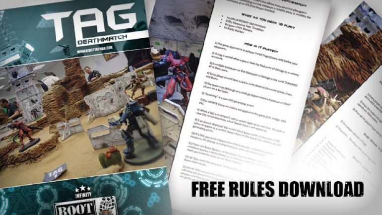 Come & Grab The TAG Deathmatch Rules